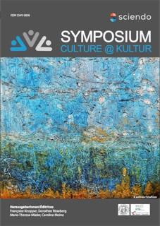 Neue kulturwissenschaftliche Zeitschrift: Symposium culture@kultur